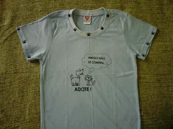 Camiseta amigo não se compra