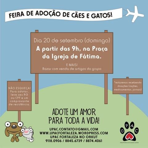 Cartaz Divulgação Feira 20-09-09