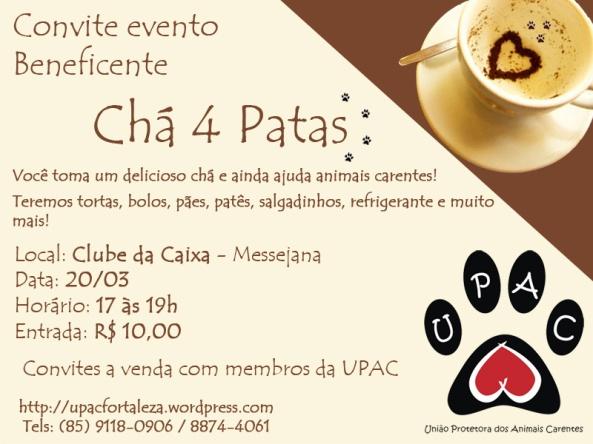 Chá 4 Patas - UPAC
