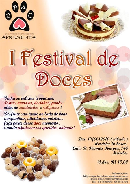 I Festival de Doces