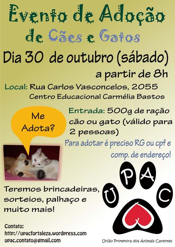 Evento de Adoção de Cães e Gatos