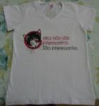 Camisa Gato é interessante!