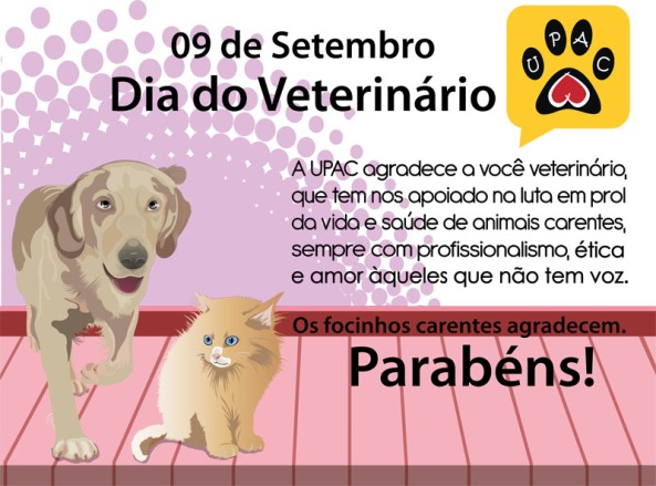 A todos os profissionais dedicados a vida animal!