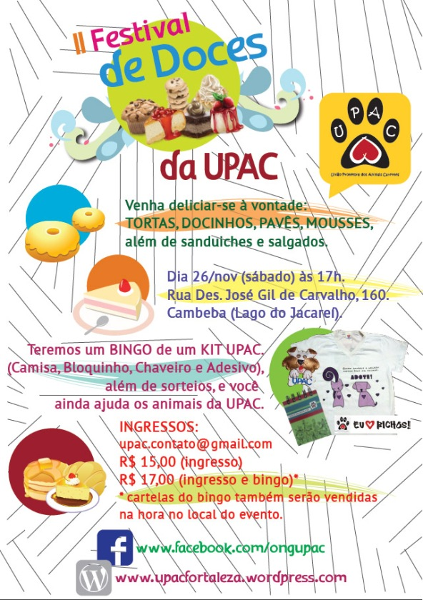 II Festival de Doces da Upac - clique para ampliar