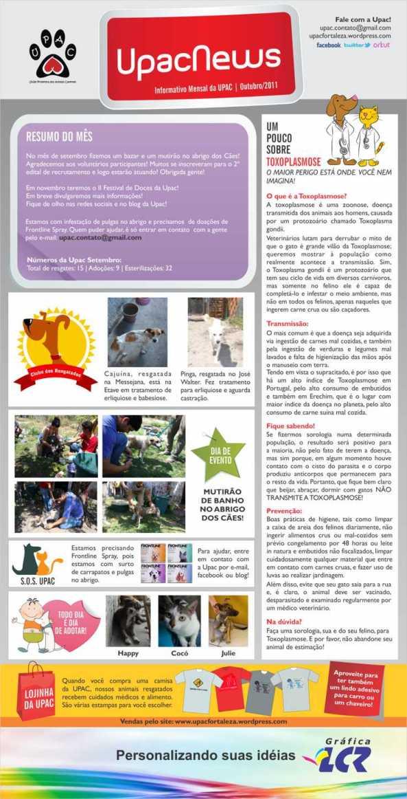 UpacNews - O informativo mensal da UPAC