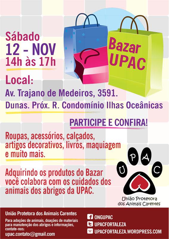 Bazar Beneficente da Upac - nov/11