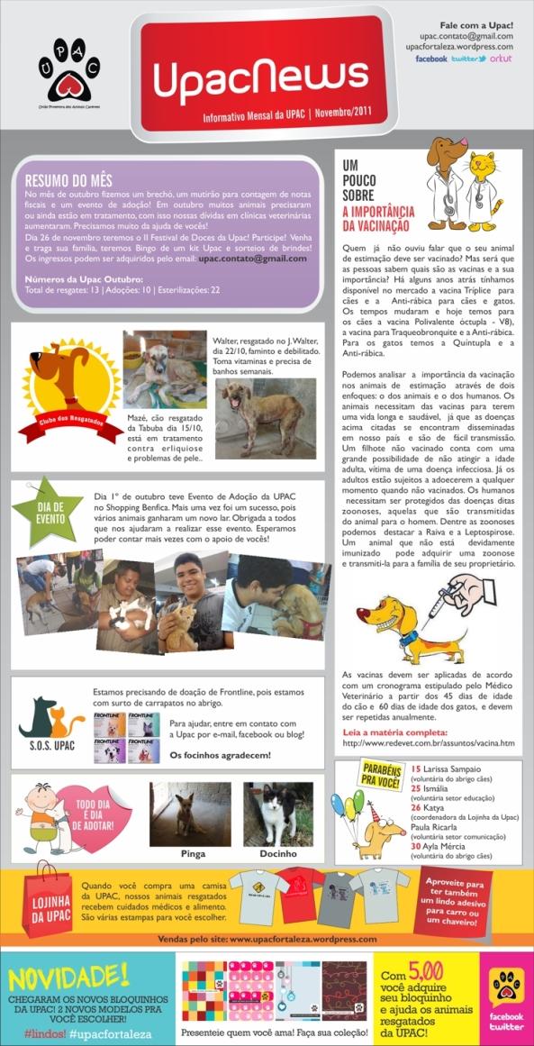 UpacNews Novembro 2011