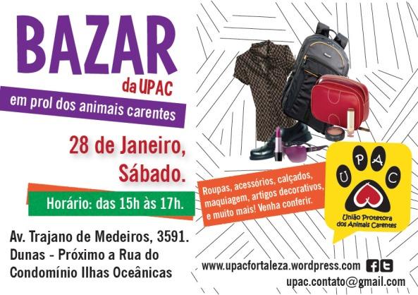 Bazar Beneficente da Upac – Jan/12