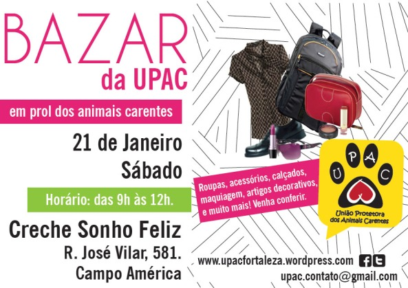 Bazar Beneficente da Upac - Jan/12