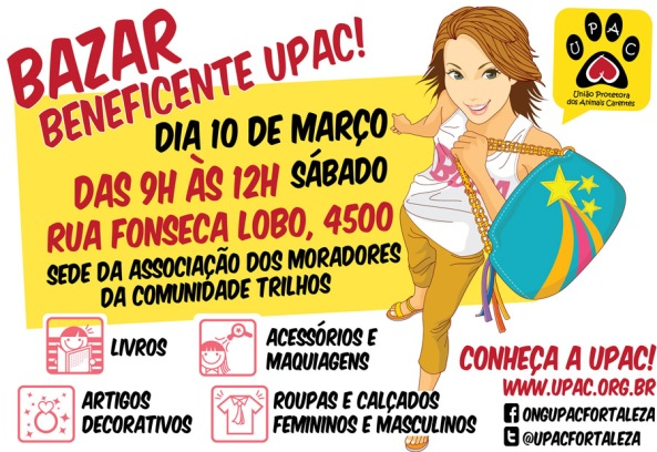 Bazar Beneficente da Upac - Mar/12