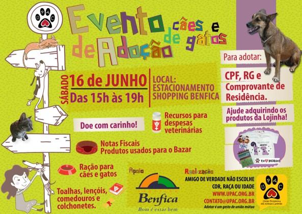 Evento de Adoção de Cães e Gatos da Upac - Junho/12