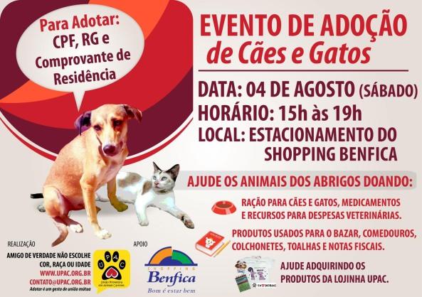 Evento de Adoção de Cães e Gatos da Upac - Ago-12