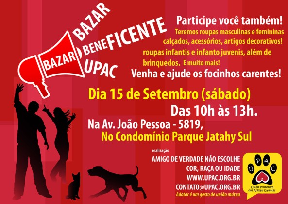 Bazar Beneficente da Upac - Set/12