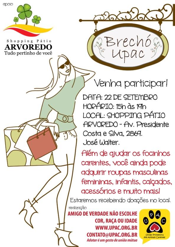 Brechó da Upac! Set/12