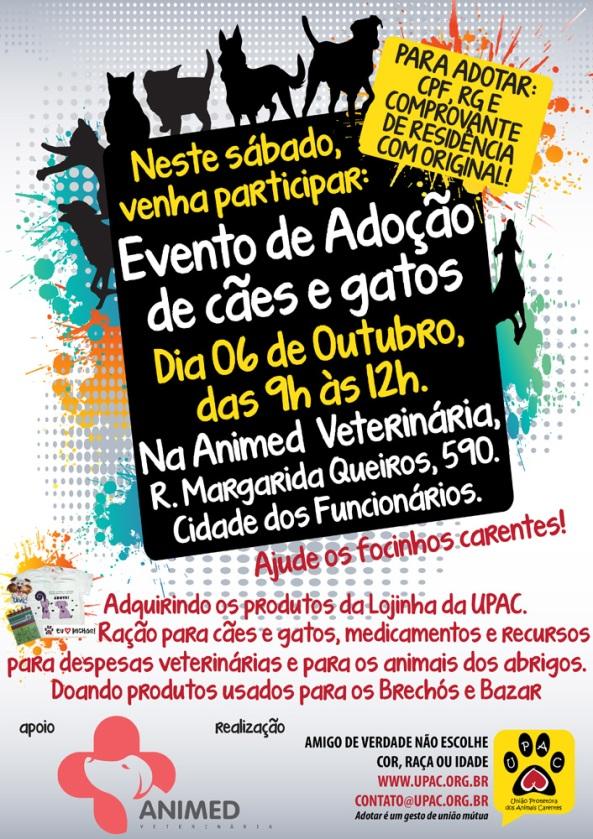 Evento de Adoção de Cães e Gatos da Upac - Out-12