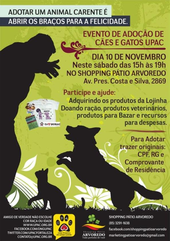 Evento de Adoção de Cães e Gatos da Upac - Nov-12