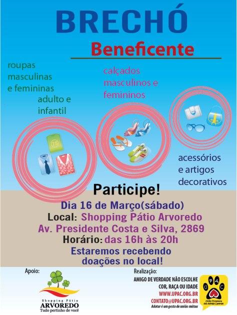 Brechó Beneficente da Upac - Março - 13