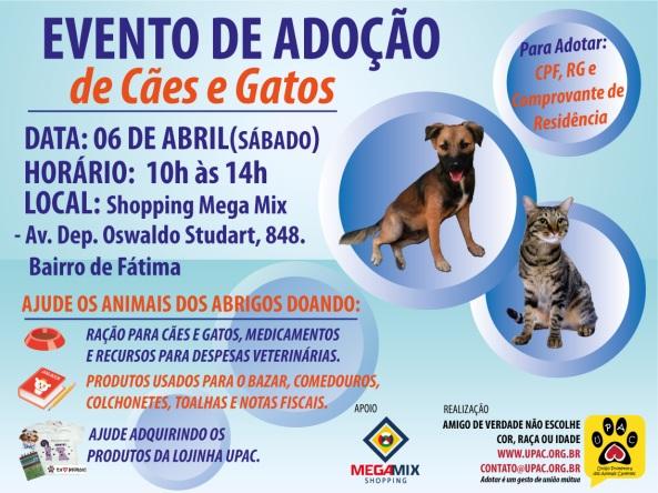 Evento de Adoção de Cães e Gatos da Upac - Abr-13